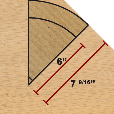 how to cut 135 degree baseboard