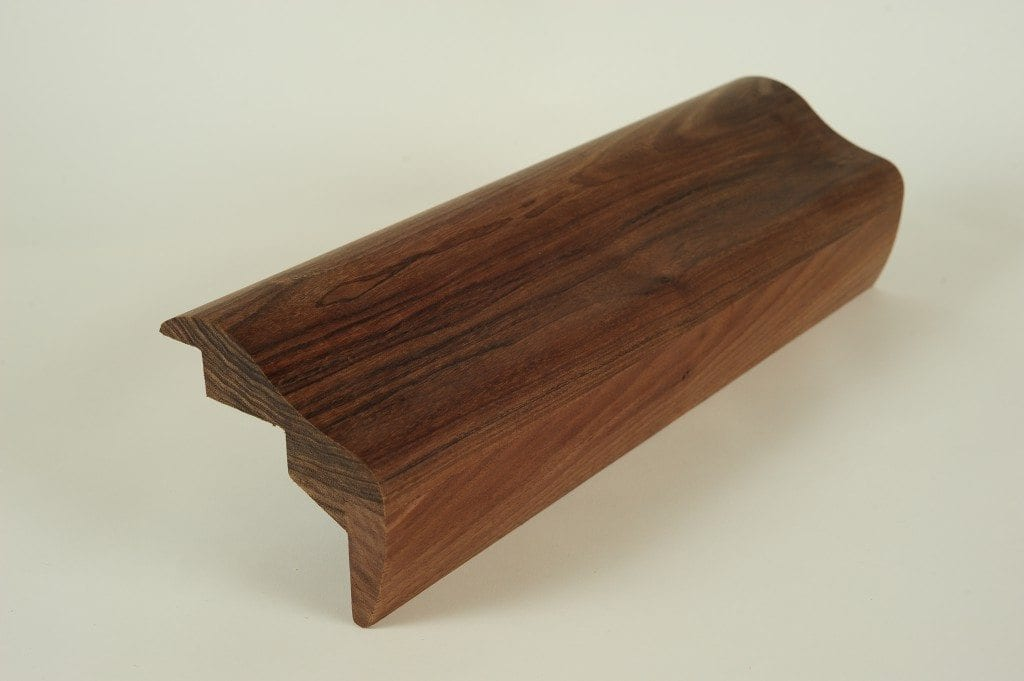 BR 475-s Chicago Bar Rail made from Walnut