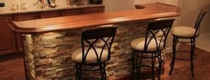 DIY Finished Bar by Hardwoods Incorporated Customer