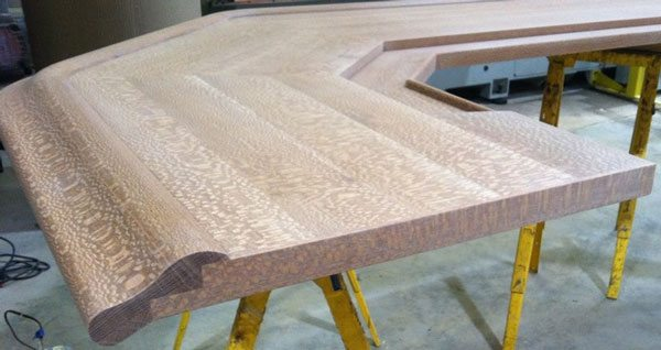 Bar Top Finish End