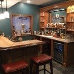 Building a Home Bar wih Bar Building Supplies from Hardwoods Inc.