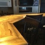 Building a Home Bar with Supplies from Hardwoods Inc.