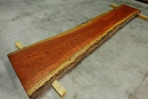 "Sanded & Sealed. 2"" thick x 24""-29"" wide x 129"" long. $4500.00"