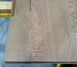 Bar Top Wings in Poplar, Oak, Maple, Cherry, Mahogany & Walnut