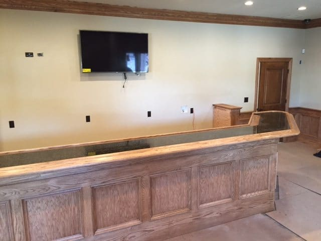Completed Home Bar by Jim Cunningham