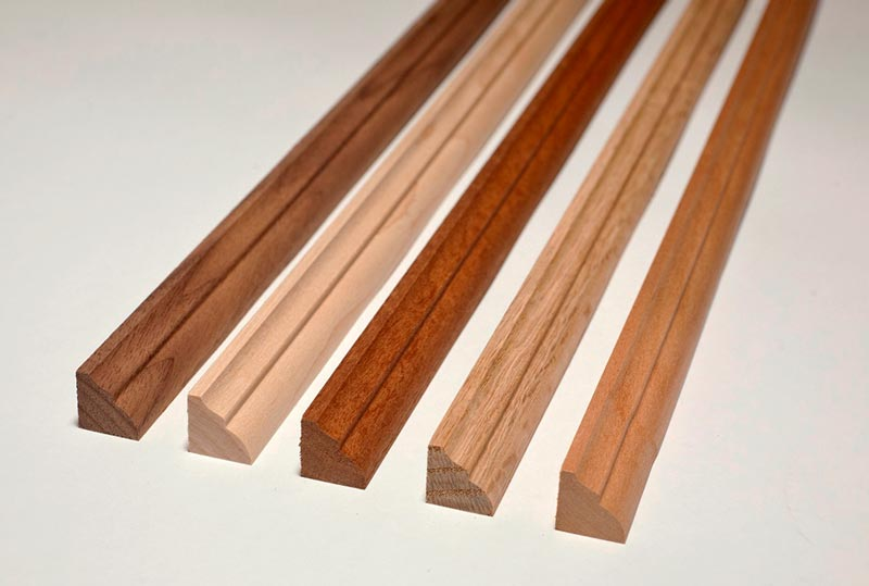 Bar Front Parts Featuring Panel Molding Hardwoods