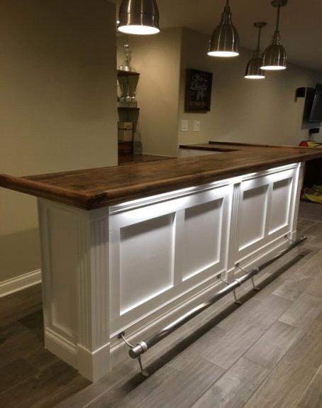 Hardwoods Incorporated - Premium Hardwood Bar Rail, Bar Tops & Bar ...