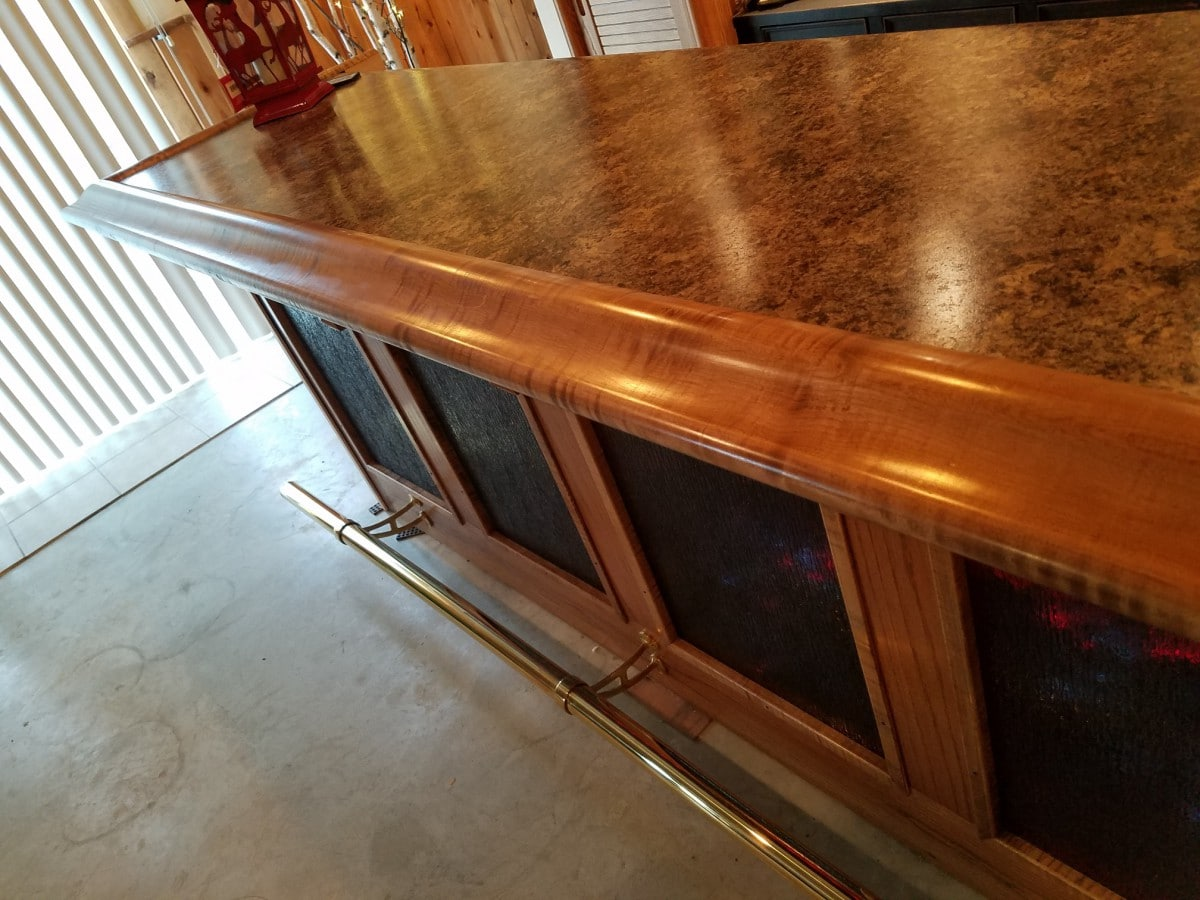 Bar Rail Molding & More Archive - Hardwoods Incorporated