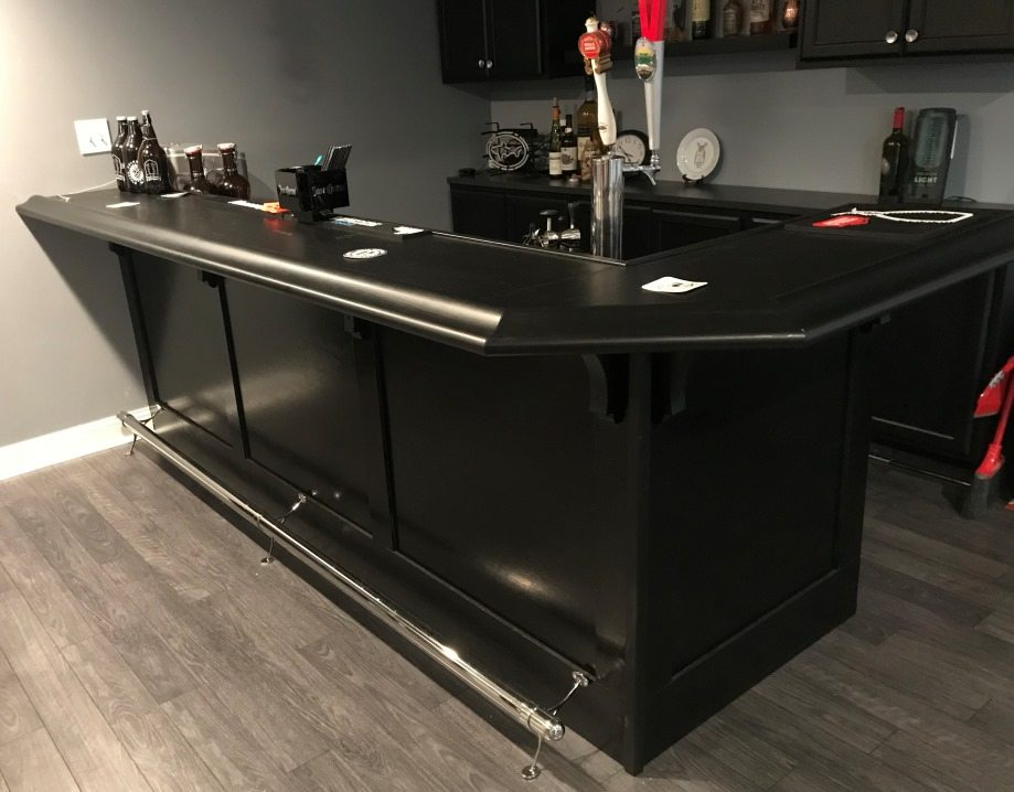 Finished Bar Photo Gallery - Bar Rails & Parts - Hardwoods ...