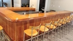 New Bar for the American Legion Ocean City NJ.