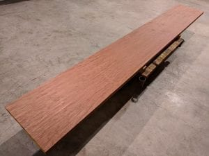 Bubinga bar top slab #3
