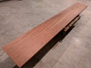 Bubinga bar top slab #2