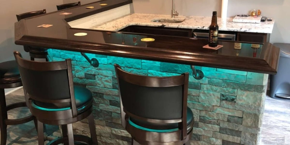 Building a Home Bar - Hardwoods Inc