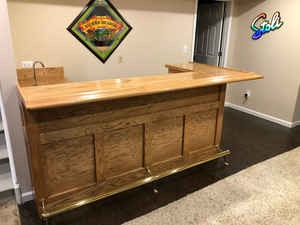 Oak Chicago Bar Rail Molding - Hardwoods Incorporated ...